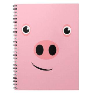 Pig Face Notebook