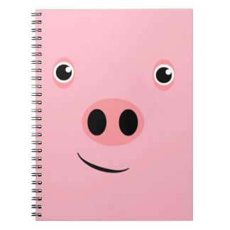 Pig Face Notebooks
