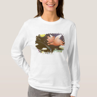 Pig flying in the sky T-Shirt