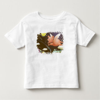 Pig flying in the sky toddler T-Shirt