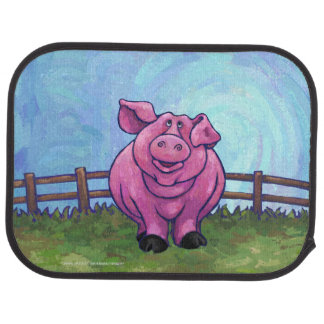Pig Gifts & Accessories Car Mat