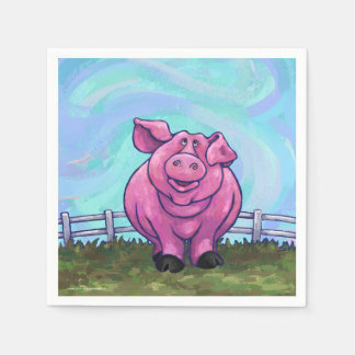 Pig Gifts & Accessories Disposable Serviette