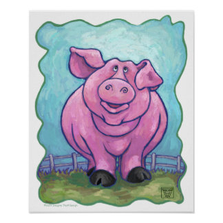 Pig Gifts & Accessories Print