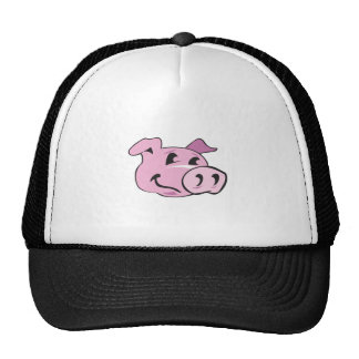 PIG HEAD TRUCKER HAT
