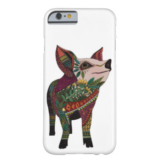 pig love white barely there iPhone 6 case