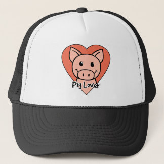 Pig Lover Trucker Hat