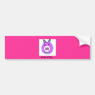 Pig Lover's Products Bumper Sticker