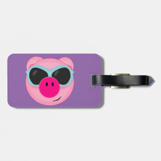 Pig Luggage Tag