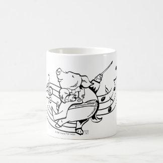 Pig Maestro Basic White Mug