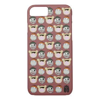 Pig, Ninja & Pirate iPhone Case. iPhone 7 Case