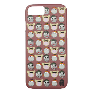 Pig, Ninja & Pirate iPhone Case. iPhone 8/7 Case