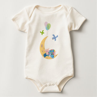 Pig on the moon bodysuits