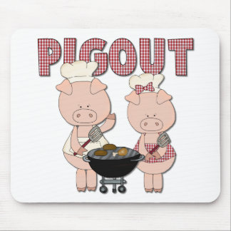 Pig Out BBQ Gift Mouse Pads