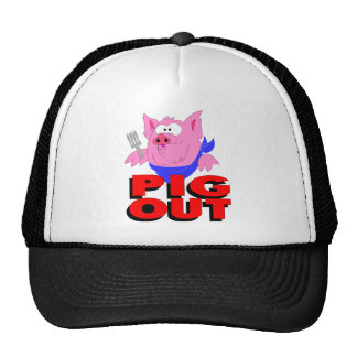 pig out hat