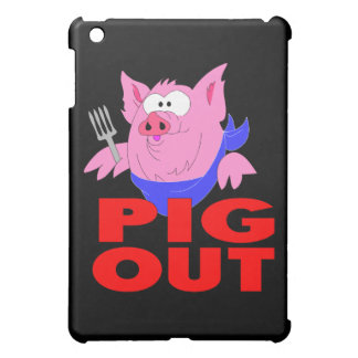 pig out iPad mini cases