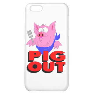 pig out iPhone 5C cases