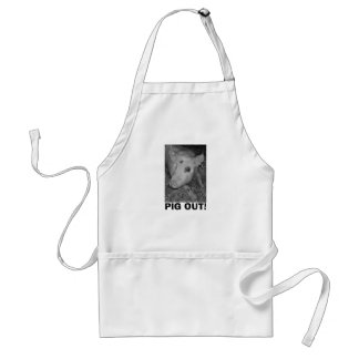 PIG OUT! STANDARD APRON
