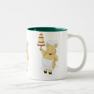 Pig Pastry Chef Mug