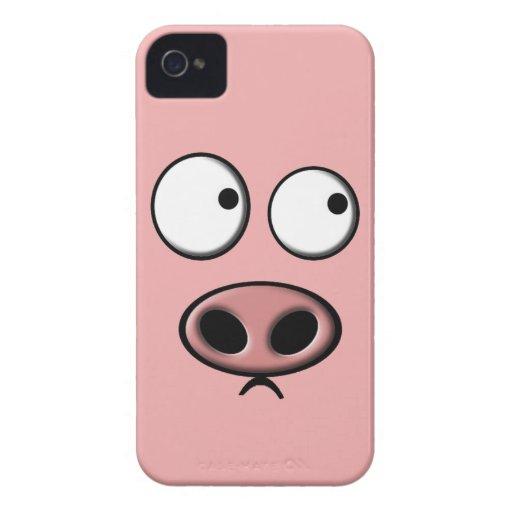 Pig Phone iPhone 4 Cases
