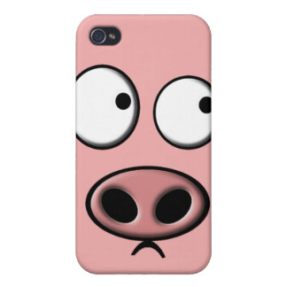 Pig Phone Cases For iPhone 4