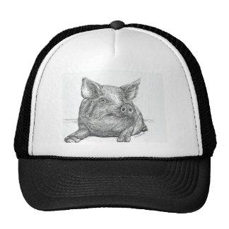 Pig Piglet Trucker Hat