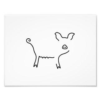 pig piglet sow art photo