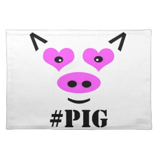 #Pig Placemats