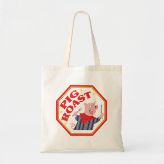 Pig Roast Canvas Bags