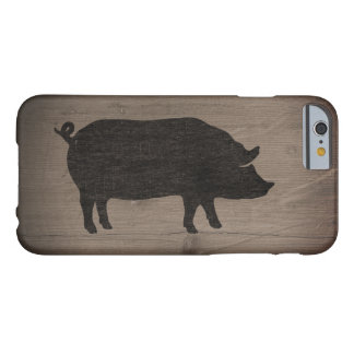 Pig Silhouette Barely There iPhone 6 Case