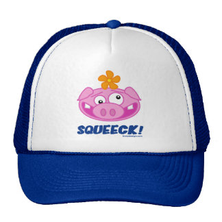 Pig Squeeck Mesh Hat