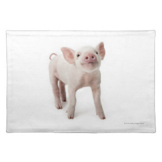 Pig Standing Looking Up Placemat