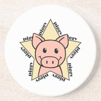 Pig Star Coaster