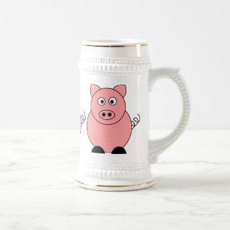 Pig Stein Coffee Mug