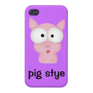 Pig Stye Case For iPhone 4