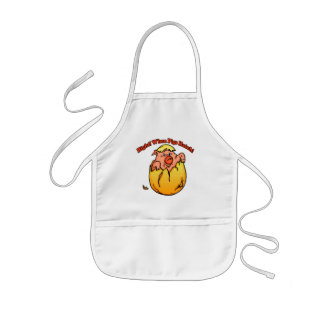 Pig T-Shirts and Pig Gifts Kids' Apron