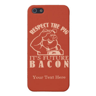PIG TO BACON custom color iPhone cases