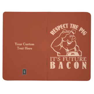 PIG TO BACON custom color pocket journal