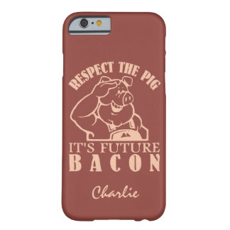 PIG TO BACON custom name & color phone cases