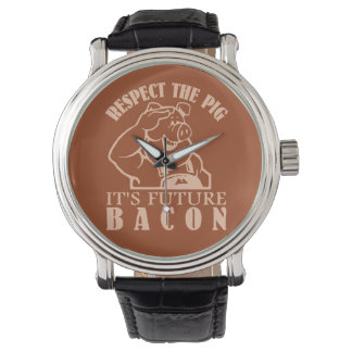 PIG TO BACON custom watches