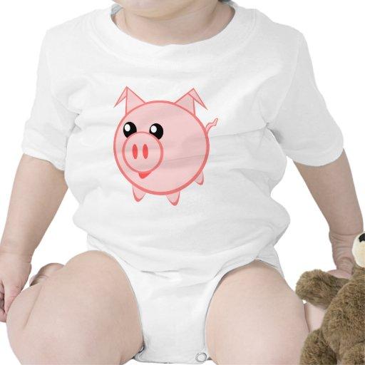 PIG BABY BODYSUITS