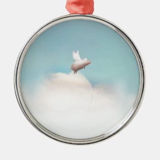 pig with wings christmas ornament