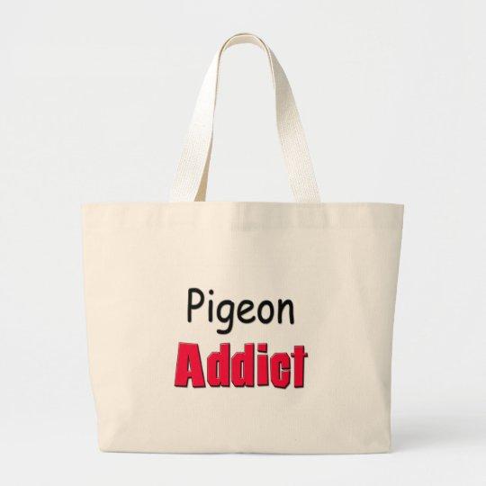Pigeon Addict Large Tote Bag