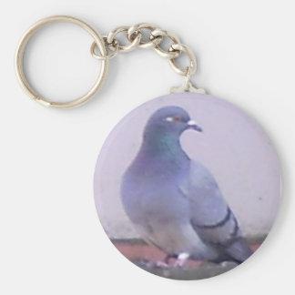 Pigeon Basic Round Button Key Ring