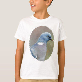 Pigeon Bird Art Kids t shirt