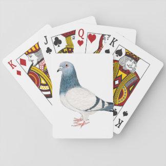 Pigeon Bird Art Playing Cards