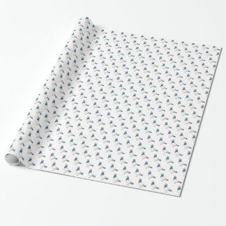 Pigeon Bird Art Wrapping Paper