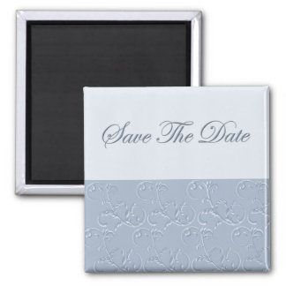 Pigeon Blue Save The Date Magnet