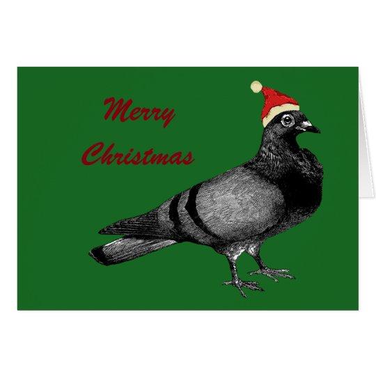 pigeon christmas card