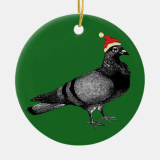 pigeon christmas christmas ornament