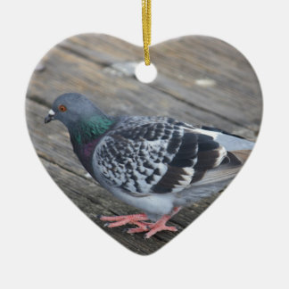 Pigeon Christmas Ornament